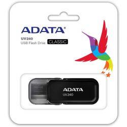 Memorie USB ADATA UV240 64GB USB 2.0 Black
