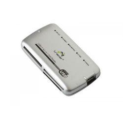 Card Reader TRACER C14, USB 2.0, argintiu