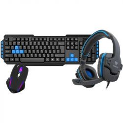 Kit Tastatura + Mouse + Casti GAMDIAS Poseidon E1 3-in-1