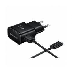 Incarcator retea SAMSUNG Galaxy EP-TA20EBEC + Cablu Type-C