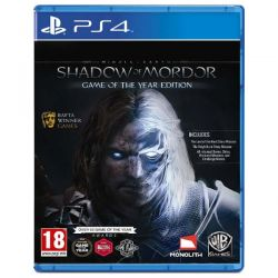 Joc MIDDLE EARTH:SHADOW OF MORDOR Game of the year edition PS4