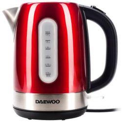 Fierbator de apa DAEWOO DK2400R, 1.7 l, 2400 W, rosu