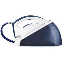 Statie de calcat PHILIPS SpeedCare GC6630/20, capacitate 1.2 l, 170 g/min, 2400 W, alb/albastru