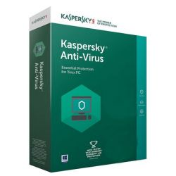 Antivirus KASPERSKY 2018, 3 utilizatori, 1 an, retail