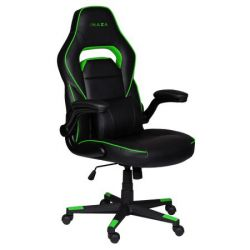Scaun gaming INAZA Interceptor IN01-BG, negru/verde