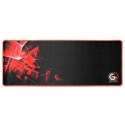 Mousepad gaming GEMBIRD GMB Pro XL, negru/rosu