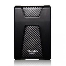 Hard disk extern ADATA HD650 2 TB, USB 3.0, negru