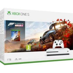 Consola MICROSOFT Xbox One S, 1 TB, Alb + Joc Forza Horizon 4