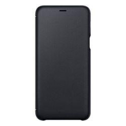 Husa Flip Wallet SAMSUNG Galaxy A6 Plus, Neagra