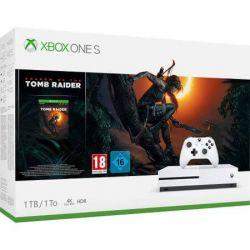 Consola MICROSOFT Xbox One Slim 1TB + joc Shadow of the Tomb Raider