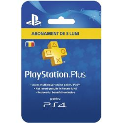 Abonament PlayStation Plus, 3 luni