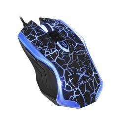 Mouse DELUX M557-BK, negru