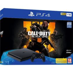 Consola SONY Playstation 4 Slim 1 TB + joc Call of Duty Black Ops 4