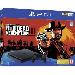 Consola SONY Playstation 4 Slim 1 TB + Joc Red Dead Redemption 2