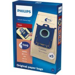 Saci universali aspirator PHILIPS S-Bag FC8019/01 - hartie