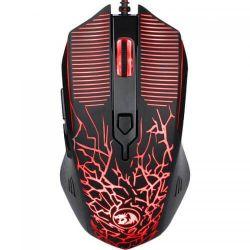 Mouse optic REDRAGON Inquisitor, RGB LED, USB, negru
