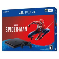 Consola PLAYSTATION 4 Slim 1 TB + joc Marvel's Spider-Man