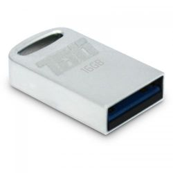 Memorie flash PATRIOT Tab 16 GB, USB 3.0, argintiu