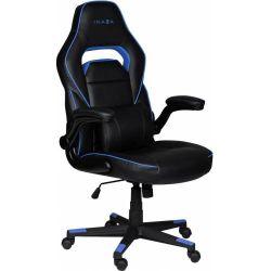 Scaun de gaming INAZA Interceptor, negru/albastru