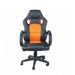 Scaun gaming SPACER SP-GC-RNG43, negru/portocaliu