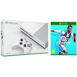 Consola MICROSOFT Xbox One S 1 TB + Joc FIFA 19