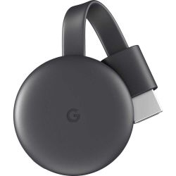 Adaptor streaming GOOGLE Chromecast 3, negru