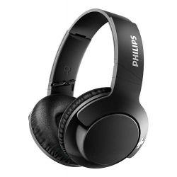 Casti cu microfon Bluetooth PHILIPS BASS+ SHB3175BK, negru