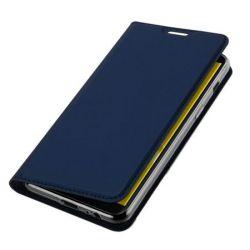 Husa Flip Wallet OEM pentru Samsung Galaxy J6 Plus 2018, albastru