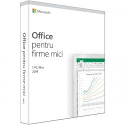 Licenta MICROSOFT Office Home and Business 2019, Romana, 1 utilizator, pentru Windows/Mac