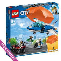LEGO CITY Arest cu parasutisti al politiei aeriene 60208