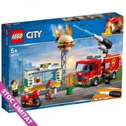 LEGO CITY Stingerea incendiul de la Burger Bar 60214