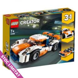 LEGO CREATOR 3-IN-1 Mașina de curse Sunset 31089