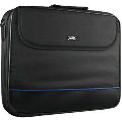 """Geanta Laptop NATEC Impala, 17.3"""", Negru-Albastru"""