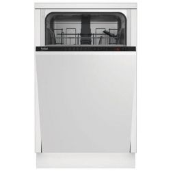 Masina de spalat vase incorporabila BEKO DIS25011, 10 seturi, 5 programe, A+, alba