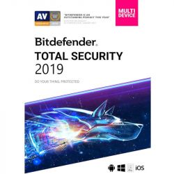 Antivirus BITDEFENDER Total Security Multi-Device 2019, 3 utilizatori, 1 an, New License, Retail