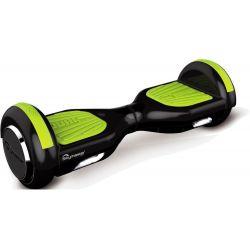 Hoverboard SKYMASTER Wheels 6 Dual, Negru-Verde
