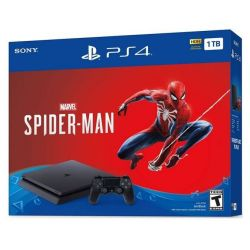 Consola PLAYSTATION 4 Slim 1 TB + joc Marvel's Spider-Man
