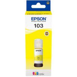Cerneala EPSON 103 EcoTank C13T00S14A, 65 ml, yellow