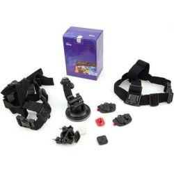 Kit accesorii optionale pentru Camera video sport BenQ Action Cam SP2 X-Land Collection