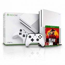 Consola MICROSOFT Xbox One S 1TB + joc Red Dead Redemption 2
