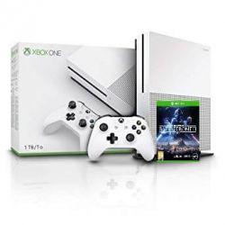 Consola MICROSOFT Xbox One S 1TB + joc Star Wars Battlefront II