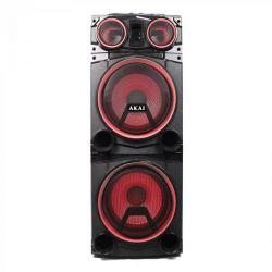 Boxa portabila AKAI ABTS-1502, Bluetooth, 100W, negru