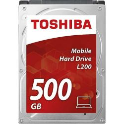 Hard disk TOSHIBA L200, 500 GB, SATA-III, 5400 RPM, cache 8 MB, 7mm