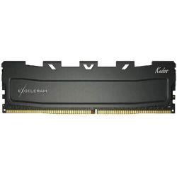 Memorie EXCELERAM Black Kudos, 8 GB DDR4, 2400 MHz, CL15, 1.2 V