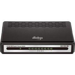 Switch D-LINK Gigabit GO-SW-8G, 8 porturi