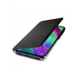 Husa Flip Wallet SAMSUNG Galaxy A40, Negru
