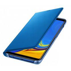 Husa flip wallet SAMSUNG Galaxy A9 (2018), albastra