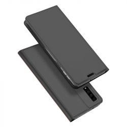 Husa flip wallet OEM pentru Samsung Galaxy A7 2018, Negru