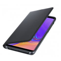 Husa flip wallet SAMSUNG Galaxy A9 (2018), Neagra