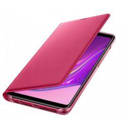 Husa flip wallet SAMSUNG Galaxy A9 (2018), roz